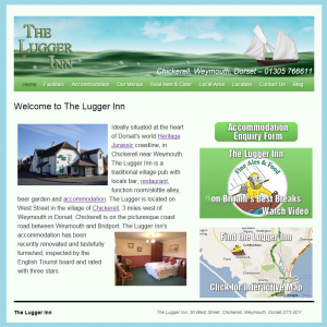 The Lugger Inn, Chickerell - New Website